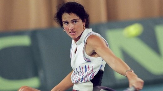 Five-time Paralympic medalist and former wheelchair tennis world champion Chantal Vandierendonck