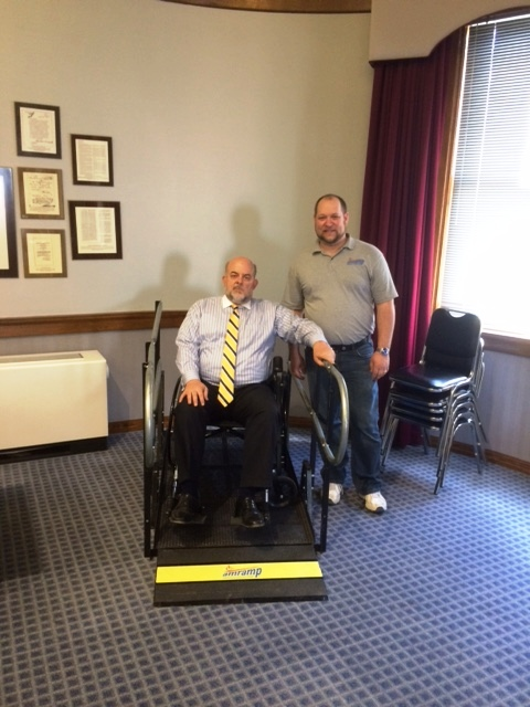 Mayor Fetters and Mike Overholser Amramp resized 600
