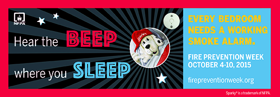 Reproduced from NFPA's Fire Prevention Week website, www.firepreventionweek.org. © 2015 NFPA.