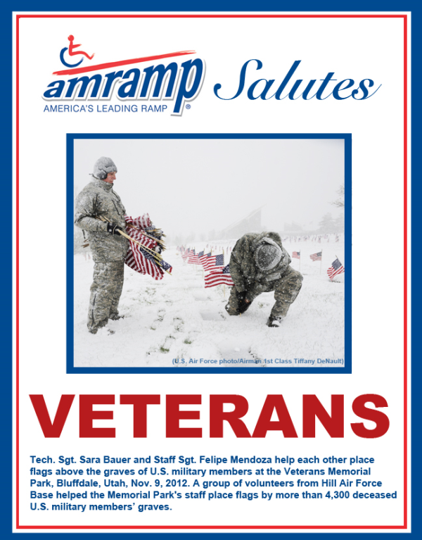 Amramp Salutes Air Force Veterans 2015 Veterans Day