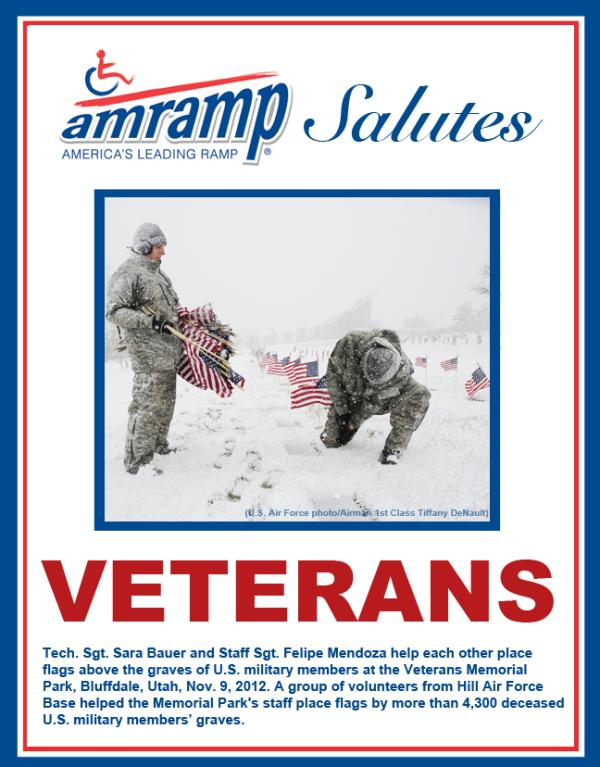 Amramp Salutes Air Force Veterans 2015 Veterans Day
