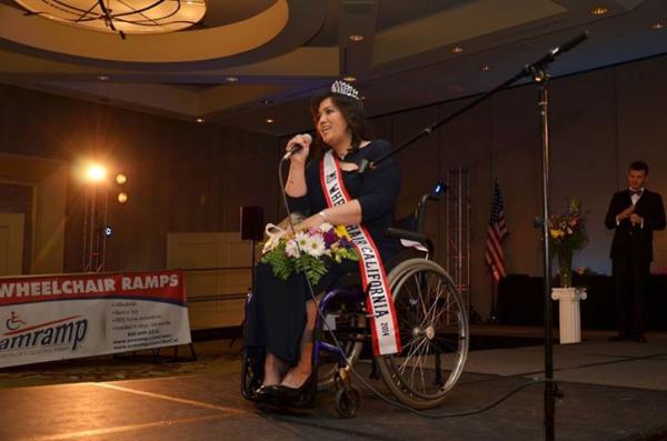 Ms Wheelchair California 2014 Theresa De Vera