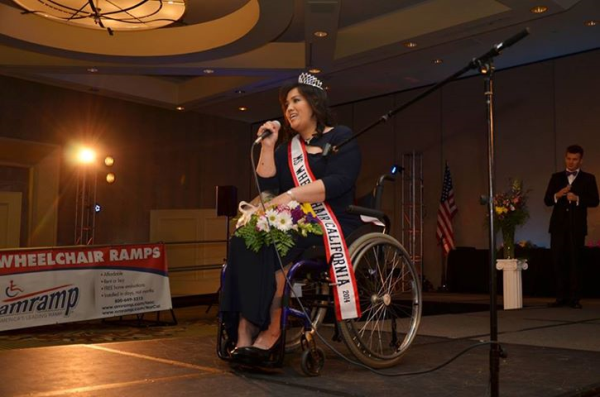 Ms Wheelchair California 2014 Theresa De Vera