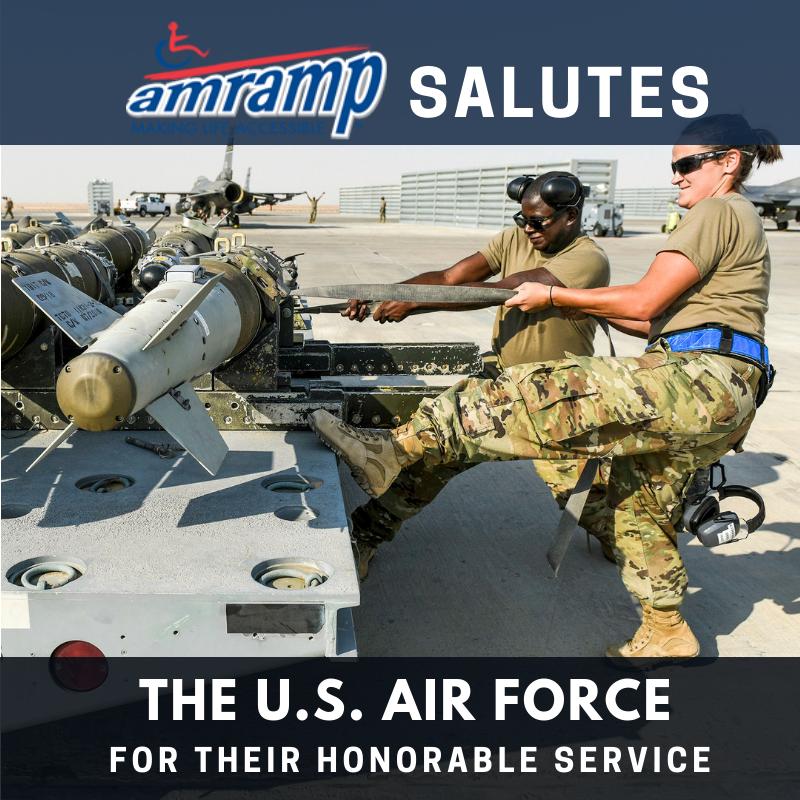 Amramp Salutes US Air Force 2018