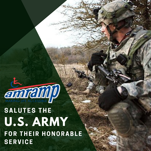 Amramp Salutes US Army 2018