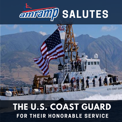 Amramp Salutes US Coast Guard 2018