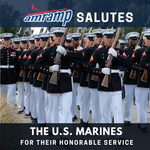 Amramp Salutes US Marines 2018