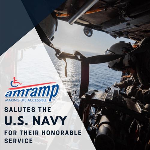 Amramp Salutes US Navy 2018