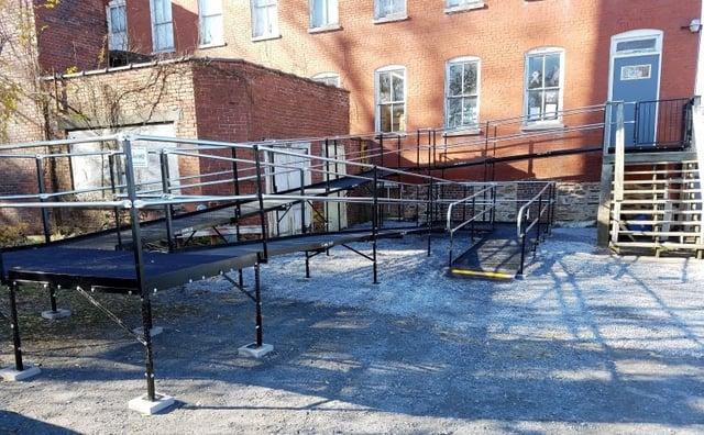Keystone Amramp Provides Access for Keystone Military Families Food Bank in Shoemakersville PA.jpg