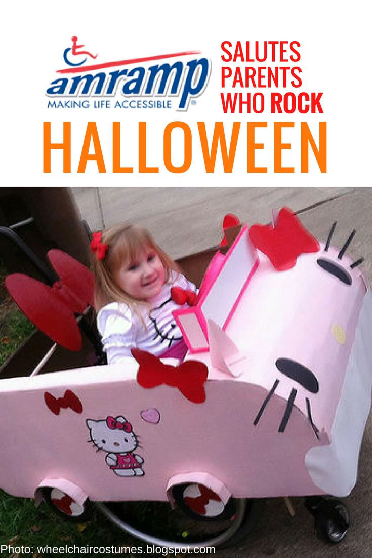 Amramp Wheelchair Costume Hello Kitty
