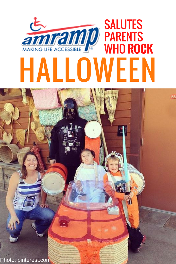Amramp Wheelchair Costume Star Wars Family